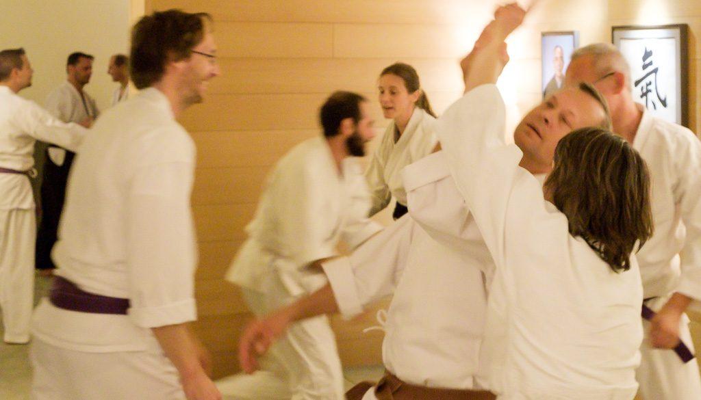 Was üben wir im Ki-Aikido?
